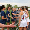 Team Captains and the Coin Toss - Junior Varsity - Granville High School Blue Aces at Olentangy Orange High School Pioneers - Thursday, May 2, 2019