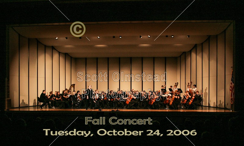 The Granville High School Fall Concert - Tuesday, October 24, 2006
