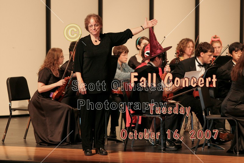 Granville High School Orchestra Fall Concert - Tuesday, October 16, 2007