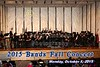 The 2015 Fall Concert for Bands of Granville High School and Granville Middle School (7th and 8th Grades) including the Concert Band and Symphonic Band - Monday, October 5, 2015
