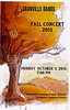 Concert Program - The 2015 Fall Concert for Bands of Granville High School and Granville Middle School (7th and 8th Grades) including the Concert Band and Symphonic Band - Monday, October 5, 2015