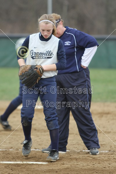 Saturday, April 9, 2011 - Teays Valley Vikings at Granville Blue Aces