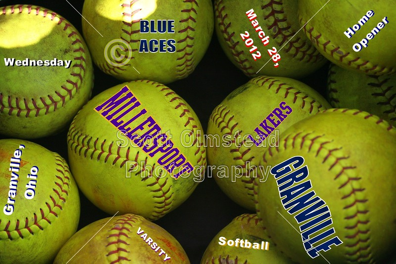 Wednesday, March 28, 2012 - Millersport Lakers at Granville Blue Aces