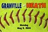 Monday, May 5, 2014 - Granville Blue Aces at Heath Bulldogs
