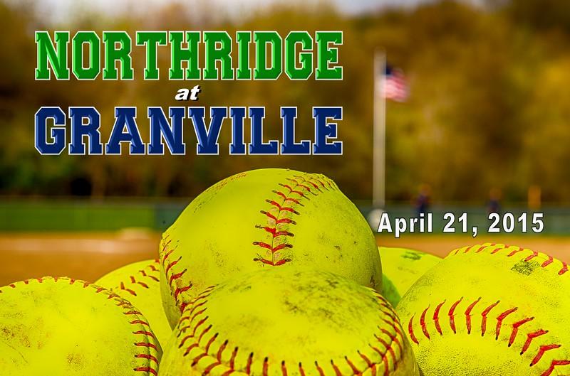 Northridge High School Vikings at Granville High School Blue Aces - Tuesday, April 21, 2015
