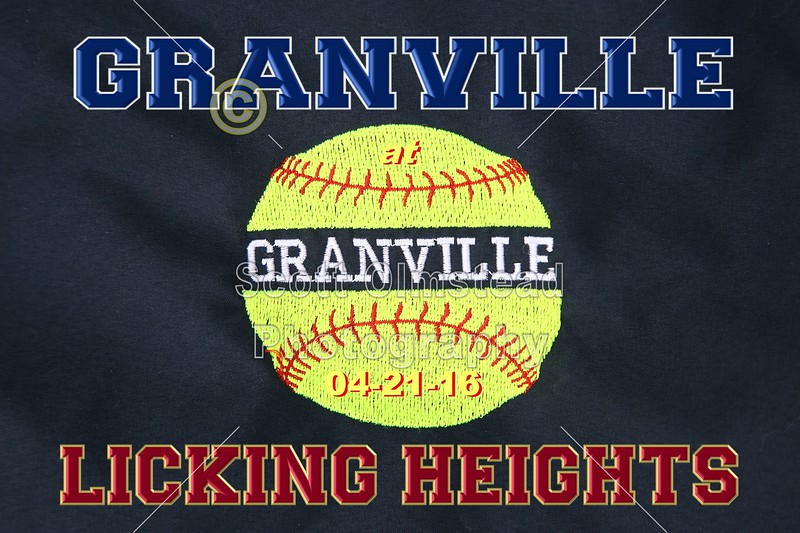 Granville High School Blue Aces at Licking Heights High School Hornets - Thursday, April 21, 2016