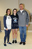 Avery Bednarski, Senior Blue Ace - Watkins Memorial High School Warriors at Granville High School Blue Aces - Senior Night - Monday, January 4, 2016