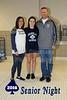 Avery Bednarski, Senior Blue Ace - Watkins Memorial High School Warriors at Granville High School Blue Aces - Senior Night - Monday, January 4, 2016