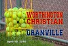 Worthington Christian High School Warriors at Granville High School Blue Aces - Tuesday, April 19, 2016