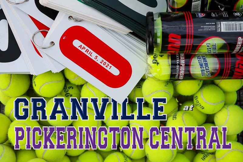Granville High School Blue Aces at Pickerington High School Central Tigers - Monday, April 5, 2021