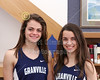 "(Size 8"" x 10"") Natalie Price and Micaela DeGenero, Granville High School Blue Ace 2015-2016 Track State Champions"