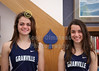 "(Size 5"" x 7"" with Vignetting) Natalie Price and Micaela DeGenero, Granville High School Blue Ace 2015-2016 Track State Champions"