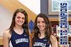 Natalie Price and Micaela DeGenero, Granville High School Blue Ace 2015-2016 Track State Champions
