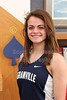 """(Size 4"""" x 6"""") Natalie Price, Granville High School Blue Ace 2015-2016 Track State Champion"""