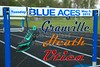 Track & Field Meet at Granville High School featuring the Granville Blue Aces, the Bulldogs of Heath High School and the Utica Redskins - Tuesday, May 5, 2015