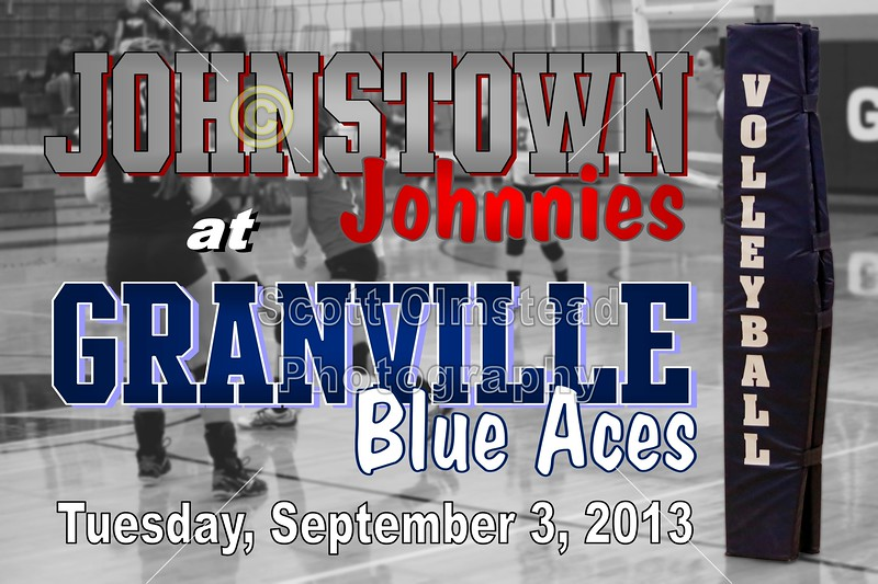 Tuesday, September 3, 2013 - Johnstown Johnnies at Granville Blue Aces