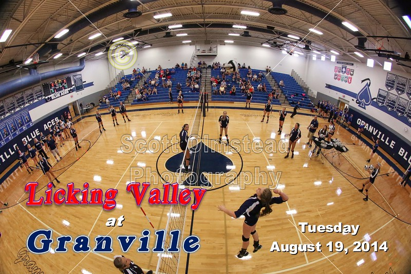 Licking Valley Panthers at Granville Blue Aces - Tuesday, August 19, 2014