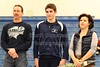 Senior Bobby Kent and Family  - Thursday, February 3, 2011 - Bexley Lions at Granville Blue Aces - SENIOR NIGHT