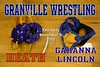 Thursday, December 6, 2012 - Wrestling at Granville featuring the Granville Blue Aces, Heath Bulldogs, Gahanna Lincoln Lions, and New Albany Eagles