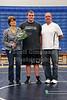 Caleb Sims and Family, Senior GHS Wrestler - Thursday, January 31, 2013 - Coshocton Redskins and John Glenn Little Muskies at Granville Blue Aces