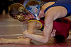 Saturday, February 1, 2014 - The Licking County League High School Wrestling Championships held at Licking Heights High School in Pataskala, Ohio - The Blue Aces of Granville High School were League Champions