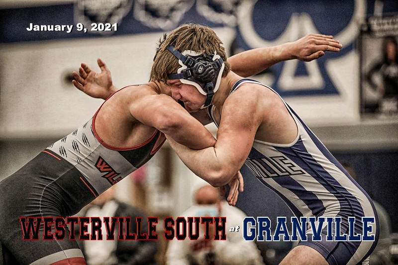 Westerville South High School Wildcats at Granville High School Blue Aces - Saturday, January 9, 2021