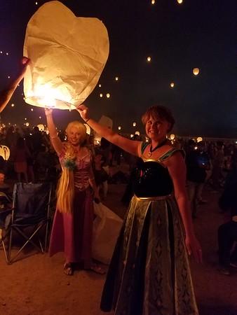 Lantern festival in Reno