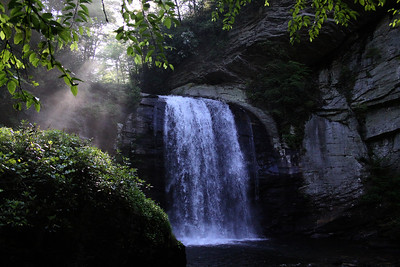 NORTH CAROLINA WATERFALL