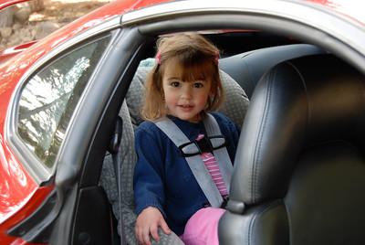 Clara's first & last ride in the Supra