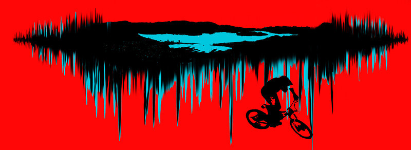 Tee shirt design for the Lyttelton Urban Downhill