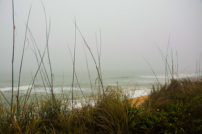 Beach scene, Flagler Beach, FL