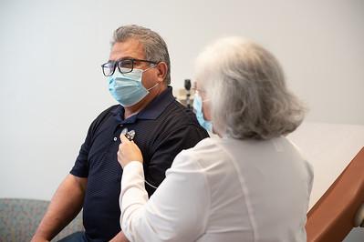 3/26/21 151715 -- San Antonio, TX --- © Copyright 2021 Mark C. Greenberg for University Health  Edgewood Clinic Physician: Elizabeth Martinez FNP Patient: Ben Lorenzano (Employee)