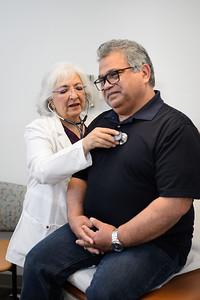 3/26/21 152558 -- San Antonio, TX --- © Copyright 2021 Mark C. Greenberg for University Health  Edgewood Clinic Physician: Elizabeth Martinez FNP Patient: Ben Lorenzano (Employee)
