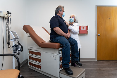3/26/21 150631 -- San Antonio, TX --- © Copyright 2021 Mark C. Greenberg for University Health  Edgewood Clinic Physician: Elizabeth Martinez FNP Patient: Ben Lorenzano (Employee)
