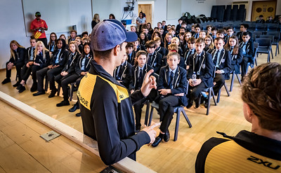 Grainville Athlete School Visit