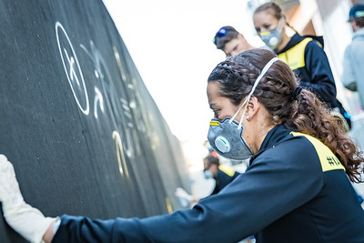 Wall Mural Paiting: For Athletes, By (Some) Athletes!