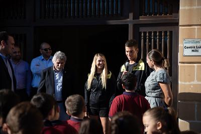 Athletes School Visit