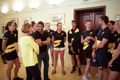 Athletes Visit the Island of Gozo