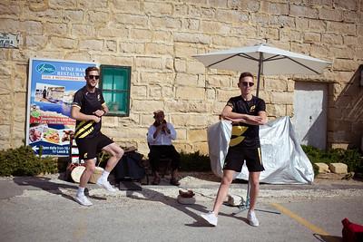 Athletes Visit the Island of Gozo
