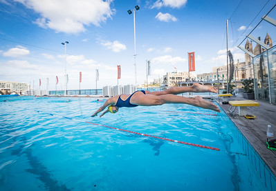 Athletes Training Session in Malta