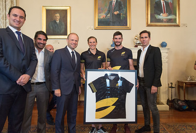Athletes Meet and Greet at the Prime Ministers Office
