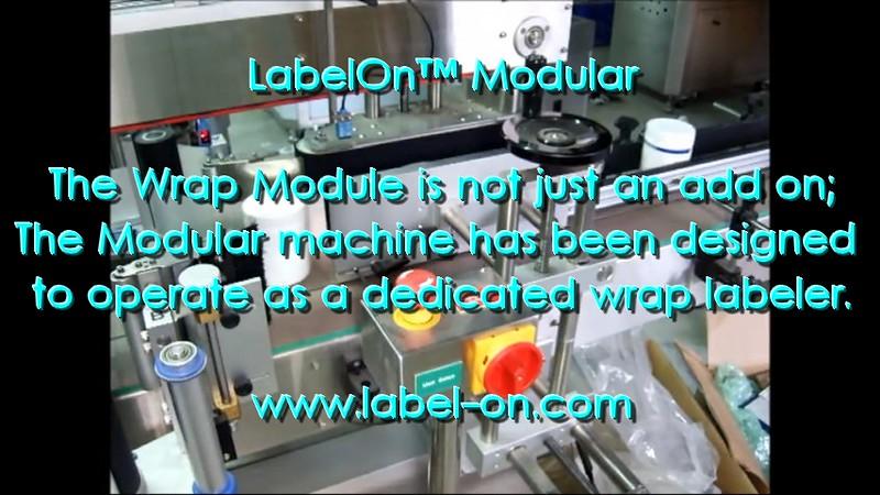 LabelOn™ Modular in Wrap Mode
