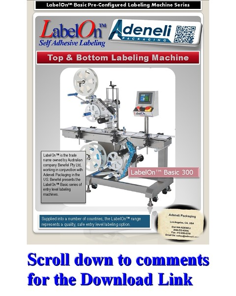 LabelOn™ Basic Top and Bottom Labeling Machine Brochure