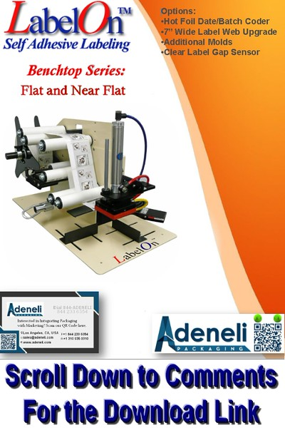 LabelOn™ Benchtop – Flat and Near Flat Labeler