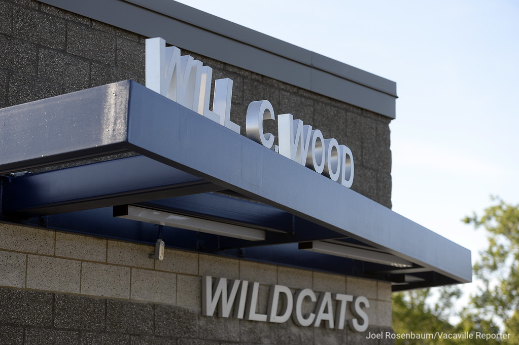 . Branding atop the ticket window welcome fans into the new Wildcat Stadium which also features team rooms, home and visitors concession stands and features an outdoor classroom amphitheater for classroom use.