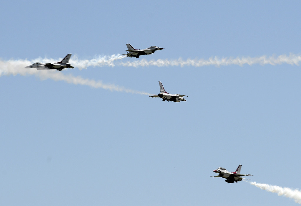 United States Air Force Thunderbirds The Reporter Media Center - United states air force bases