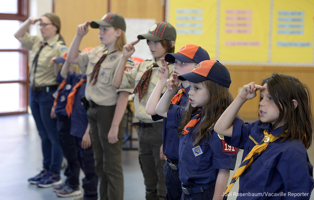 . Vacaville Cub Scout Pack 191 is taking the lead. With eight girls in the pack, they are part of growing trend in scouting since the Boy Scouts of America made the decision to allow girls to join.