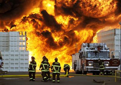 Macro Plastics Fire