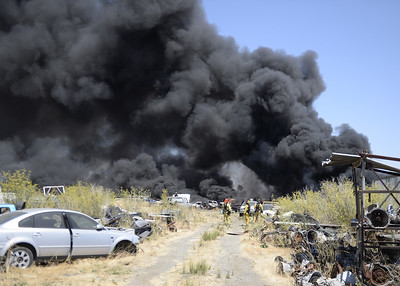 VAC-L-Salvage Yard Fire-0728-001