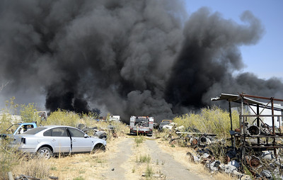 VAC-L-Salvage Yard Fire-0728-009